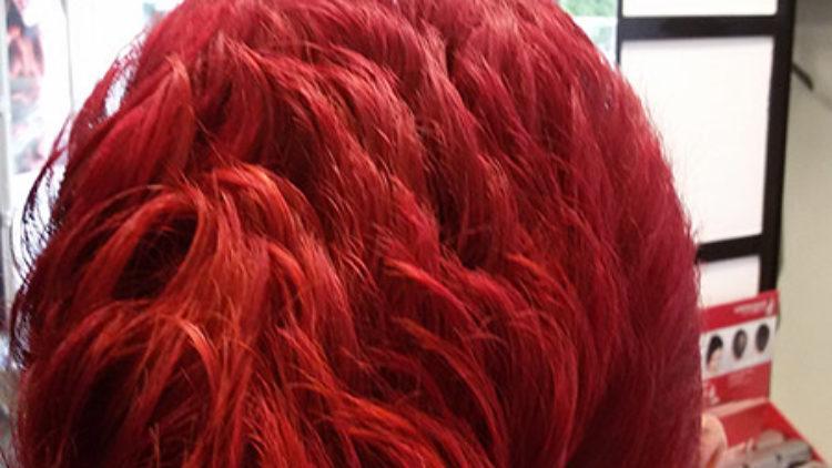 Kurz und Rot